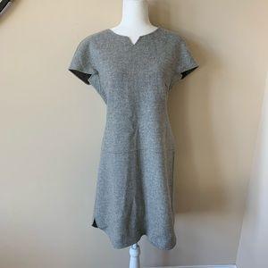 MaxMara Dresses - Maxmara Weekend gray notch neck wool dress #1714
